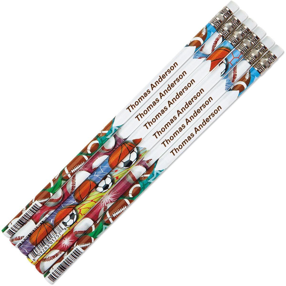 Sports #2 Hardwood Custom Pencils