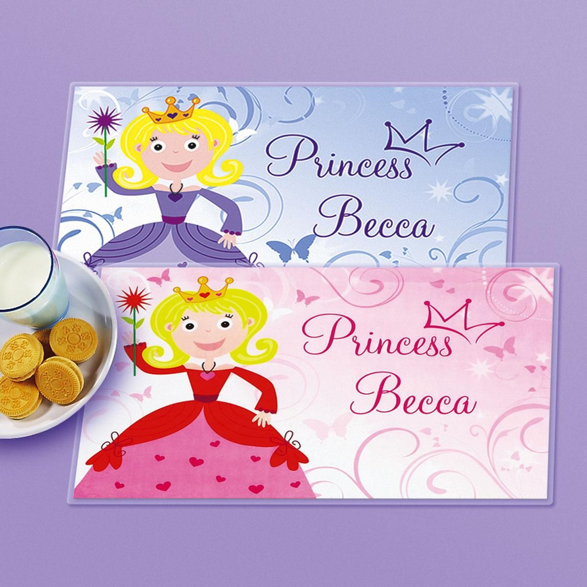 Kids' Princess Personalized Placemat