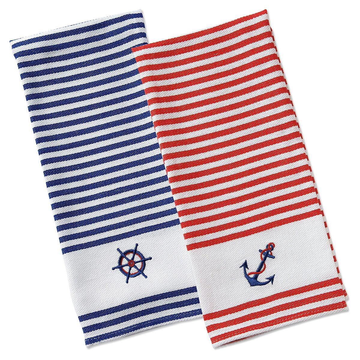Nautical Kitchen Towels