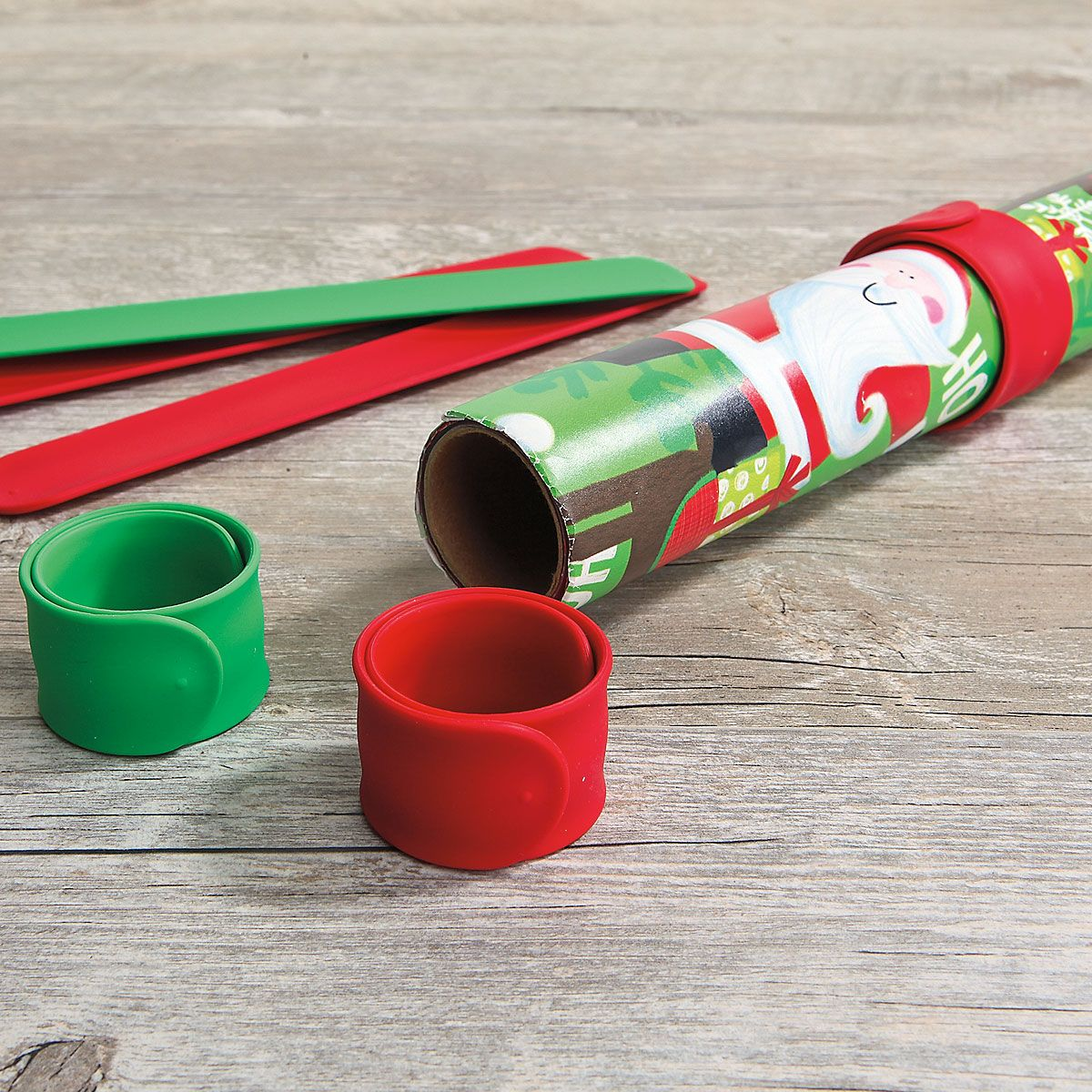 Silicone Red & Green Christmas  Flip Wraps