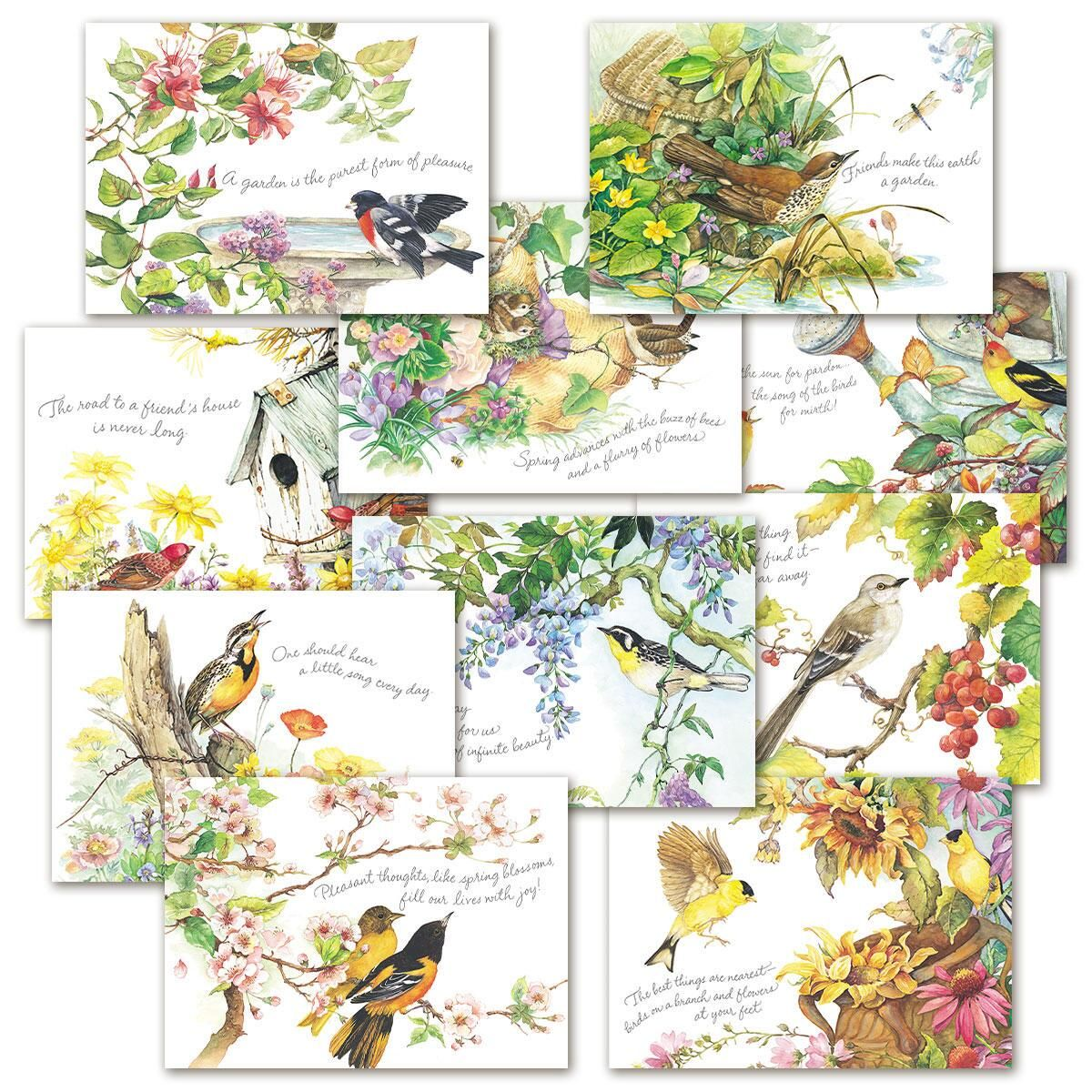 Nature's Serenade Faith and Friendship Cards Value Pack