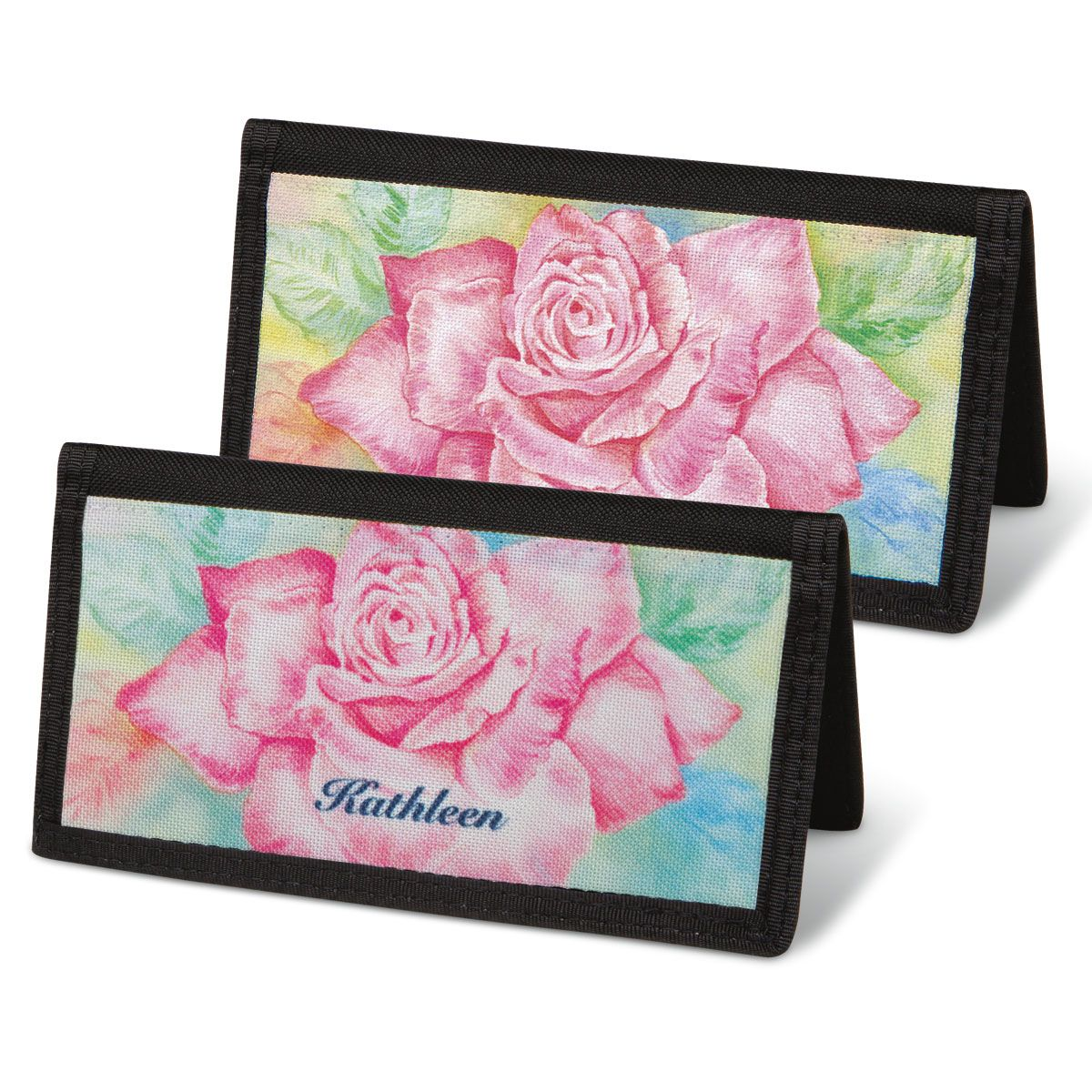 Floral Fancy Checkbook Cover