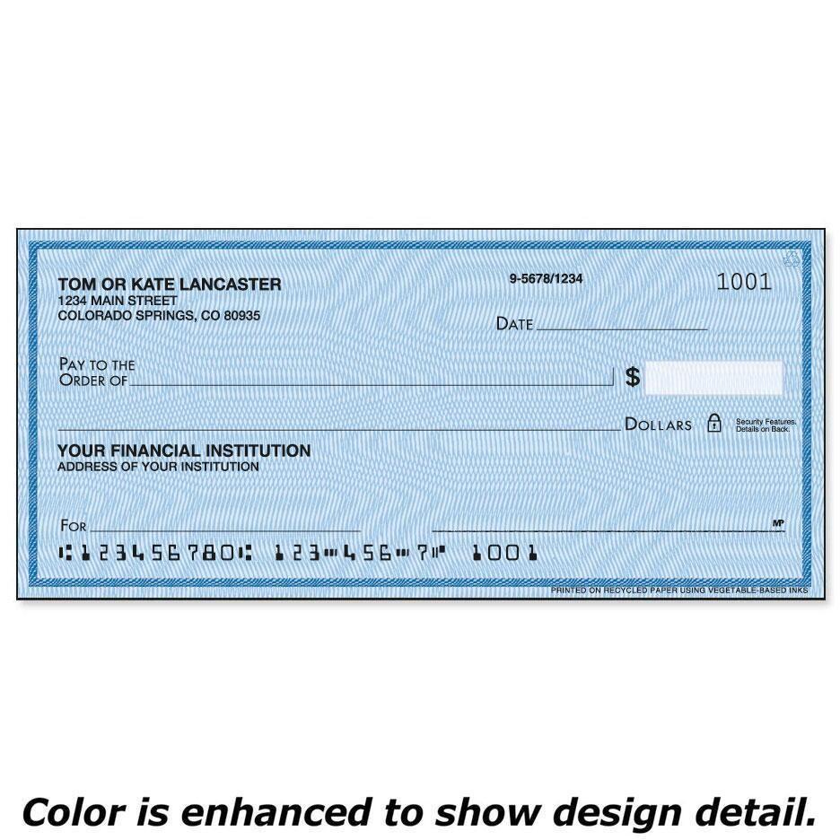 Security Blue Duplicate Checks