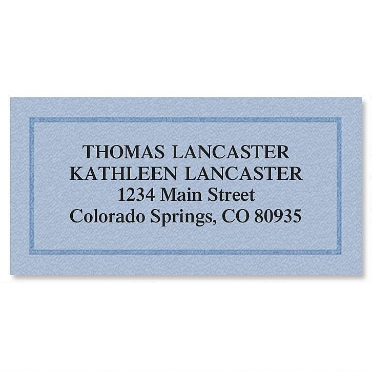 Classic Safety Border Return Address Labels