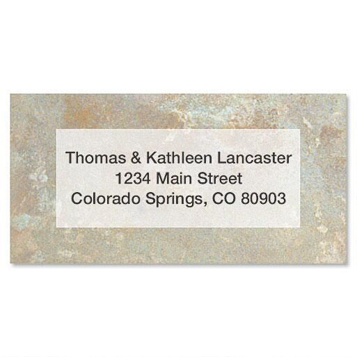 Tuscan  Border Address Labels