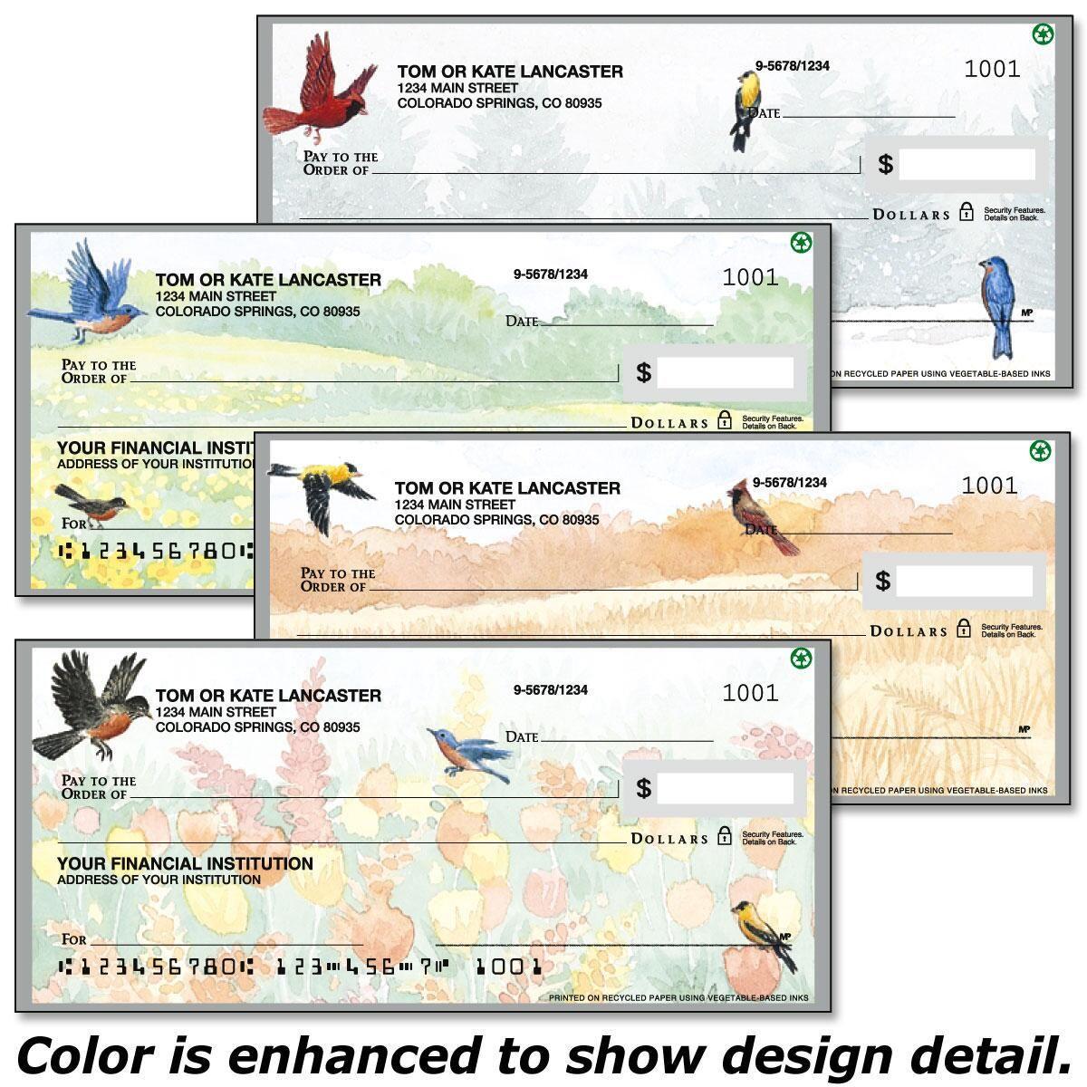 Wildbird Personal Checks