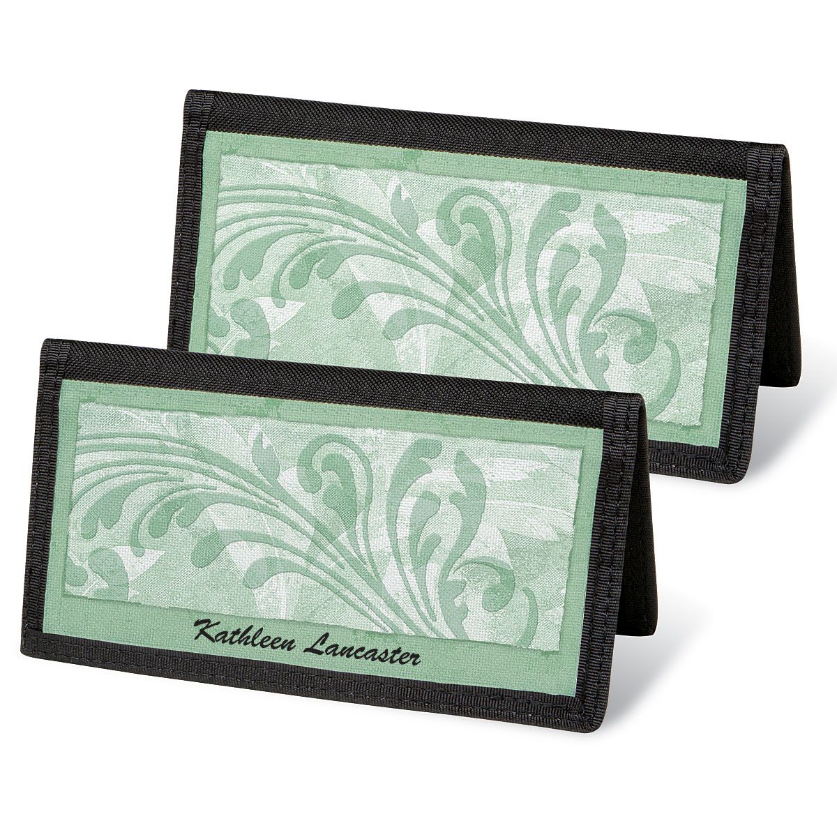 Scroll Personal Checkbook Covers