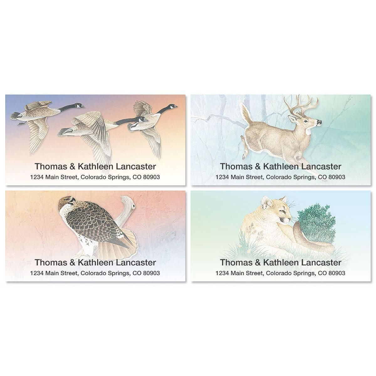 Wildlife Deluxe Address Labels