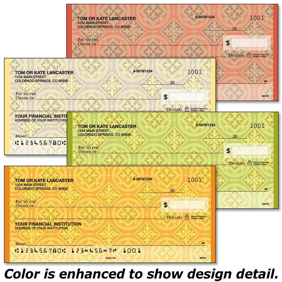 Italian Tile Checks