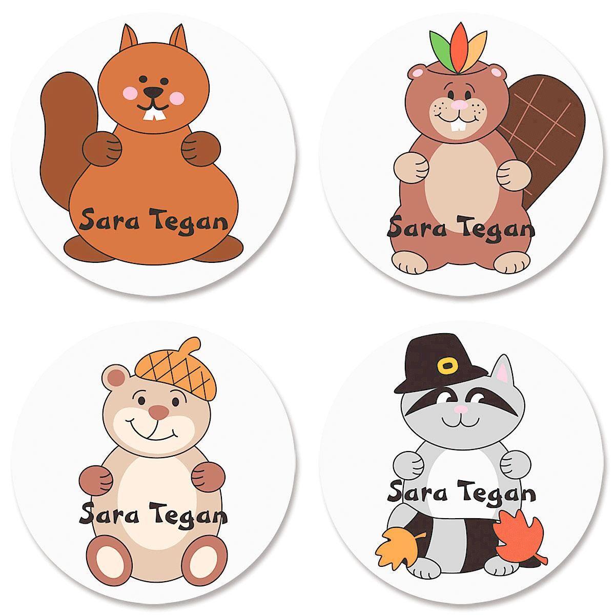 Custom Fall Stickers