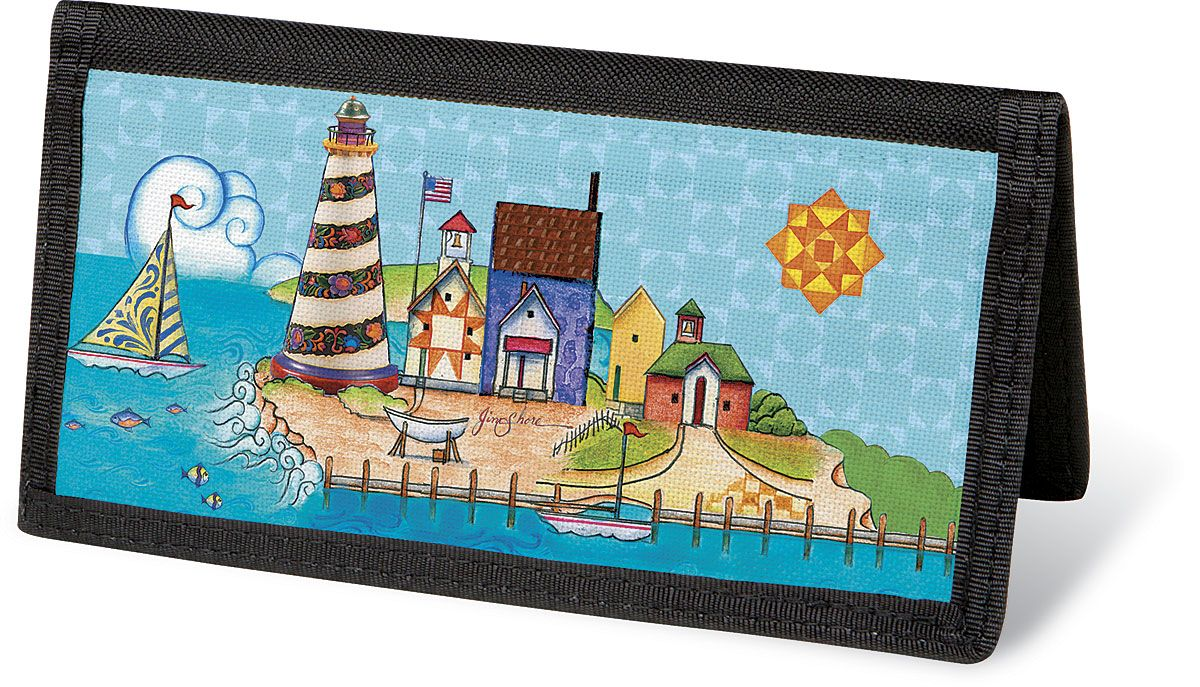 Lighthouse by Jim Shore  Checkbook Cover - Non-Personalized