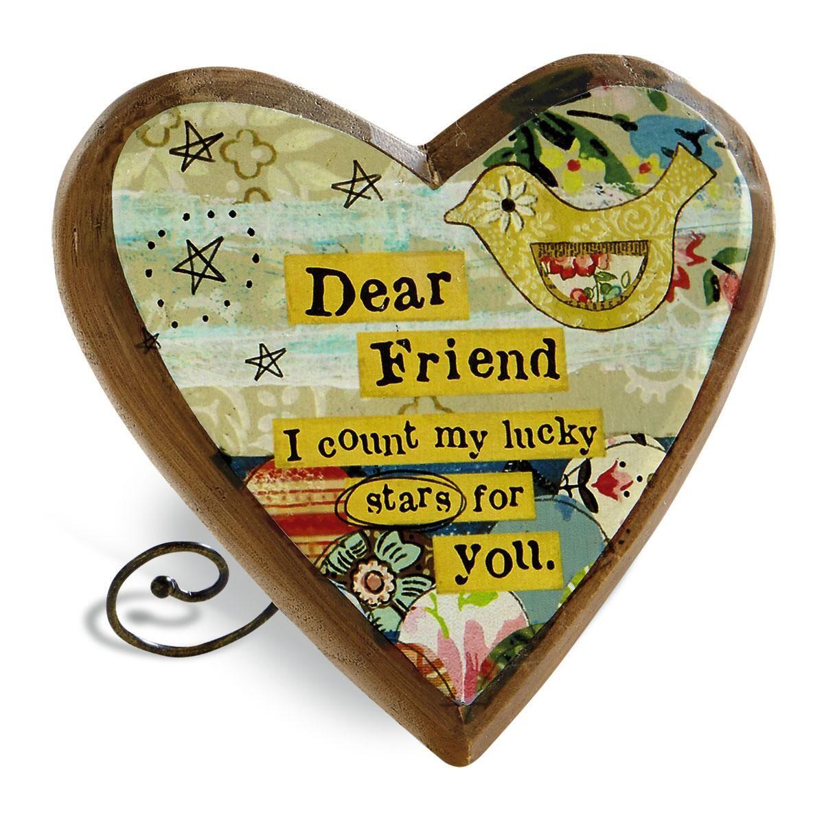 Wooden Heart Plaque