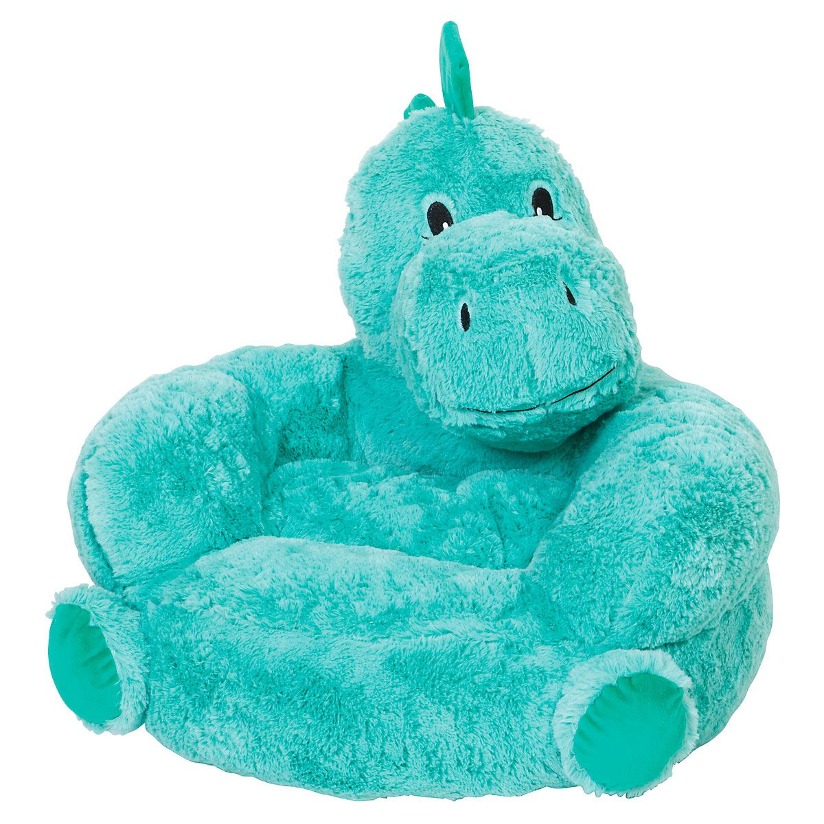 Plush Dino Children's Character Chair