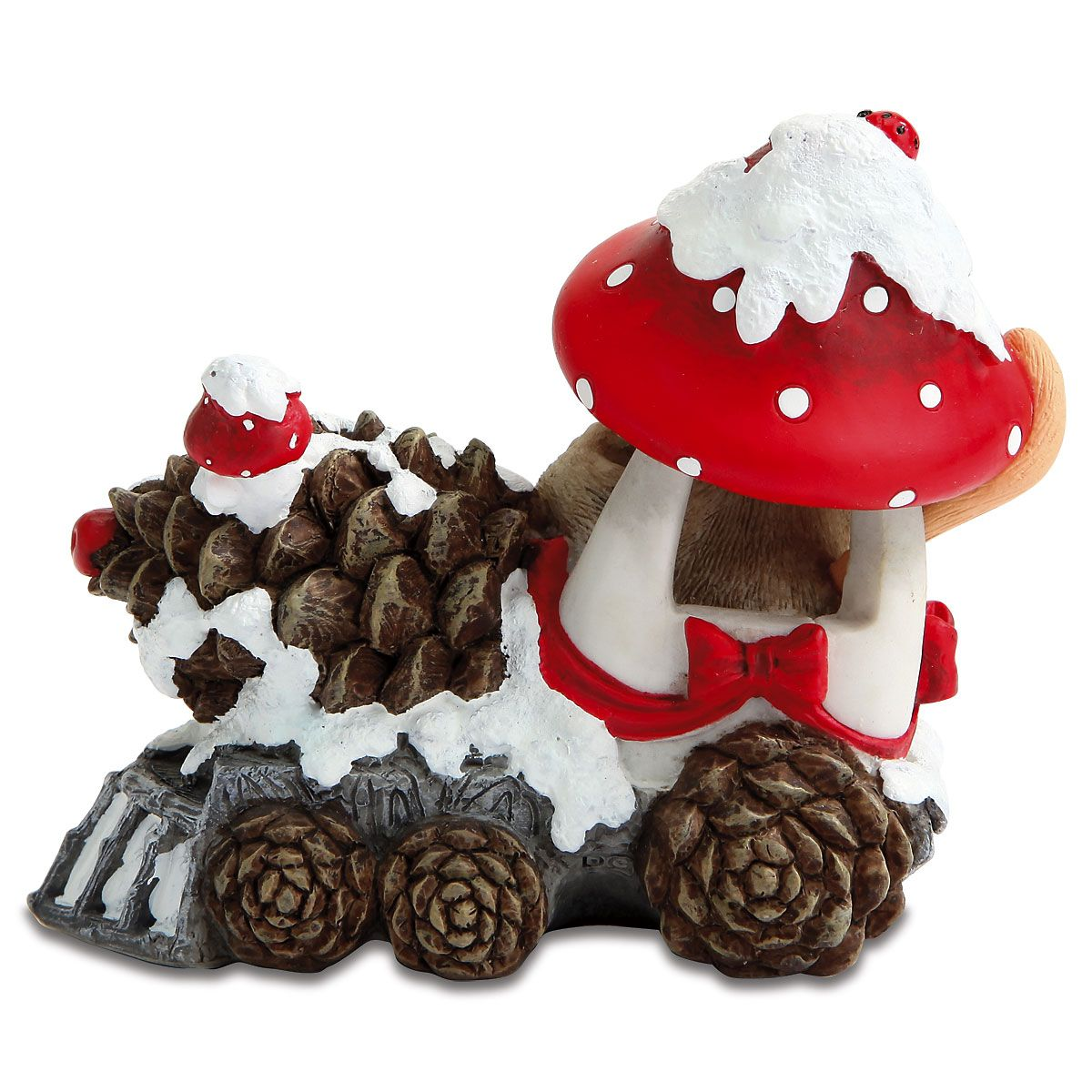 Mouse in Mushroom Train by Charming Tails®