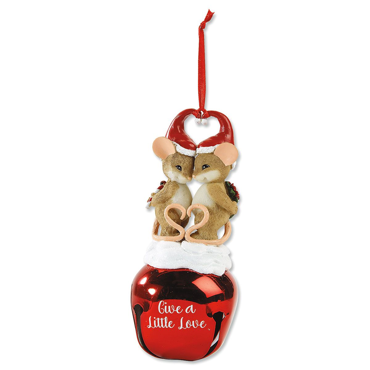 Give a Little Love Ornament by Charming Tails®