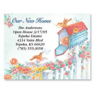 Our New Home New Address Postcards