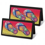 Flip-Flops Fun Checkbook Cover