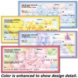 Floral Fancy Personal Checks