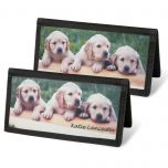 Puppy Love Checkbook Cover