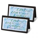 Live, Love, Laugh Checkbook Cover