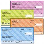 Perfectly Plaid Personal Checks