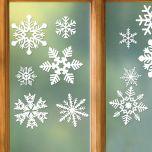 Snowflake Vinyl Clings Buy 1 Get 1 Free