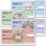 Seasonal Angels by Jim Shore Premium Personal Checks