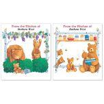 Bear Lodge Buddies Canning Labels  (2 Designs)