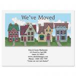 New Neighborhood We've Moved Postcards