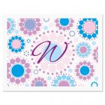 Bright and Bold  Personalized Note Cards