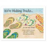 Baja Flip-Flops Postcards