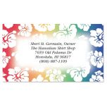 Hawaiian Print Business Cards