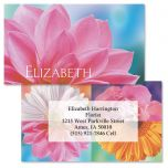 Floral Passion Double-Sided Business Cards