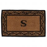 Initialed  Creel Coir Mats