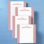 Tailored Appeal Memo Pad Set