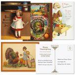 Thanksgiving  Postcards  (4 Designs)