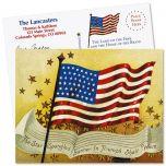 Patriotic Flag  Postcards