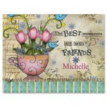 Fresh Picked Personalized  Note Cards