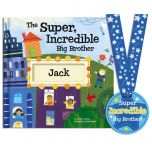 The Super Incredible Big Brother Personalized Storybook