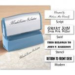 Create Your Own  Address Stamp