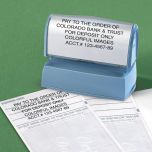 Deposit Large Address Stamp