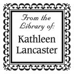 Bookplate Square Address Stamp