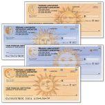 Sun and Moon Personal Checks