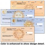 Sun and Moon Personal Checks