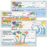 Tropical Moods Personal Checks