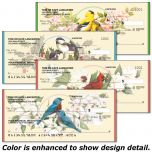 Birds & Blossoms Personal Checks