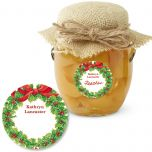 Christmas Feeling   Round Goodie Labels