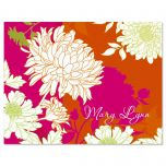 Peonies in Color Personalized Note Cards