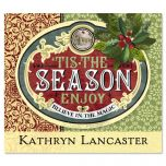 Holiday Season Ephemera  Personalized  Goodie Labels  (1 Design)