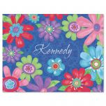 Blossom Personalized Note Cards - Set of 12